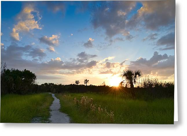 Greeting Card featuring the photograph A Walk With You... by Melanie Moraga