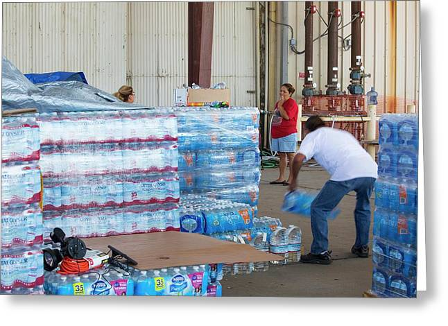 A Water Charity In Porterville Greeting Card