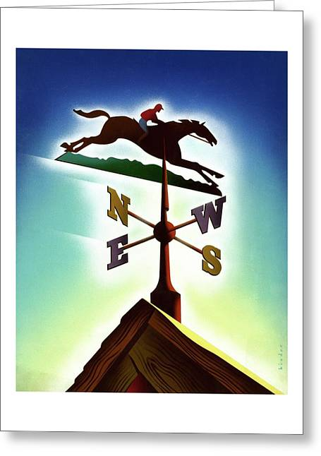 A Weather Vane Greeting Card