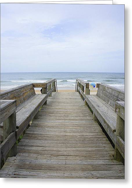 Greeting Card featuring the photograph A Welcoming View by Laurie Perry