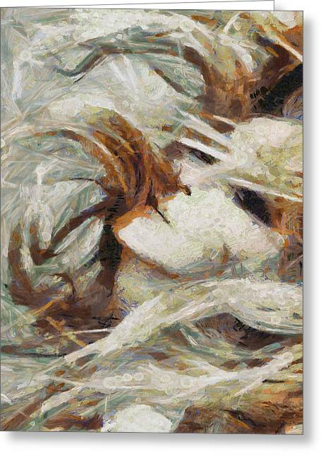 Greeting Card featuring the painting A Wild Dance by Joe Misrasi