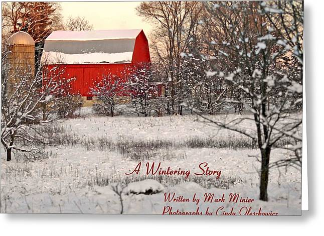 A Wintering Story Greeting Card by Mark Minier