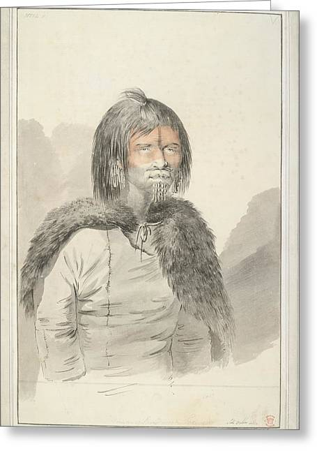 A Woman Of Prince William Sound Greeting Card by British Library