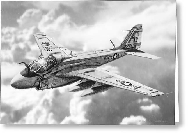 A6 Intruder Greeting Card