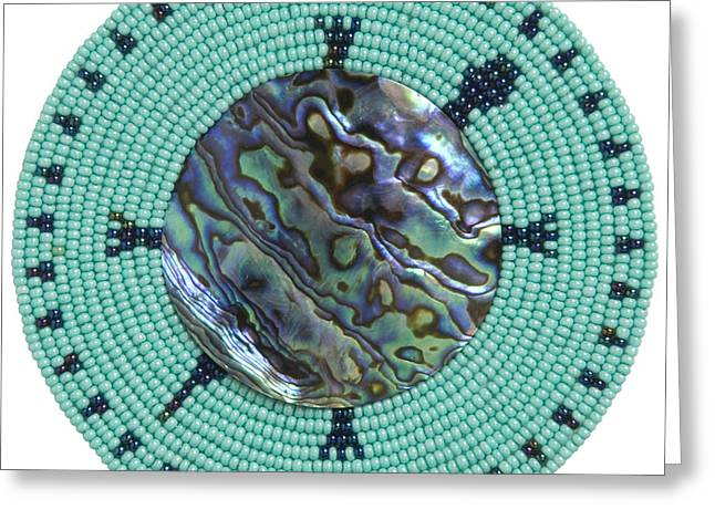 Abalone Shell Greeting Card