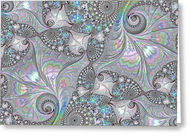 Abalone Shells Greeting Card by HH Photography of Florida