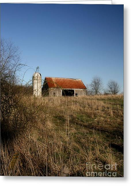 Abandon Barn Greeting Card