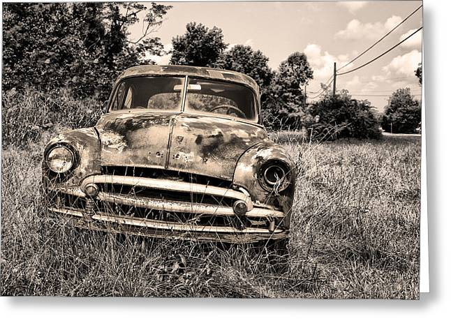 Abandoned Greeting Card by Bill Cannon