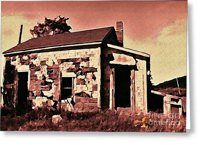 Abandoned Cape Breton House Greeting Card by John Malone