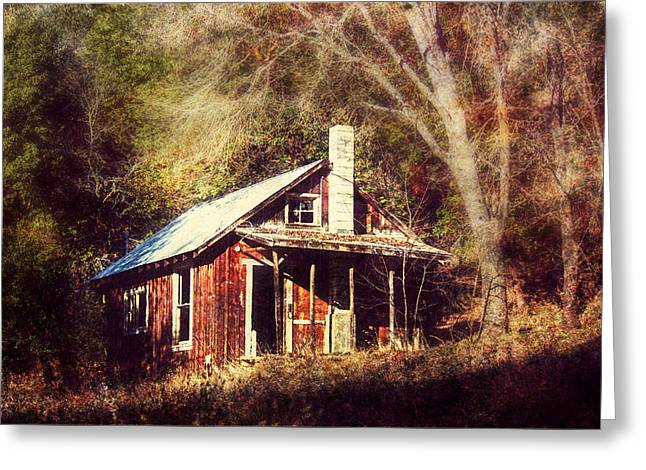 Abandoned Dreams Greeting Card by Melanie Lankford Photography