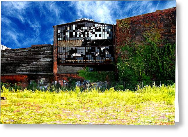 Abandoned Factory 1 Greeting Card