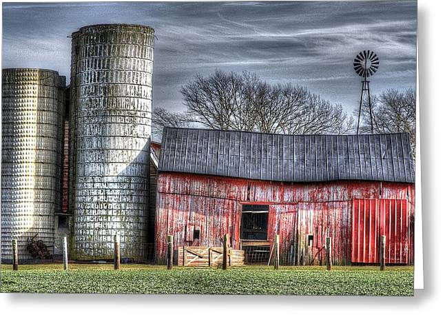 Abandoned Farm New Jersey Greeting Card