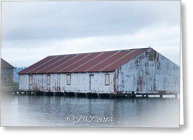 Abandoned Fishery Plant Greeting Card