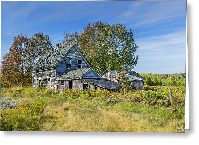 Abandoned House In Wentworth Valley Greeting Card