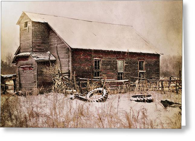Abandoned Greeting Card by Julie Hamilton