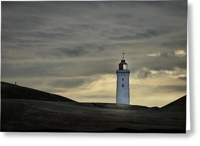 Abandoned Lighthouse Greeting Card