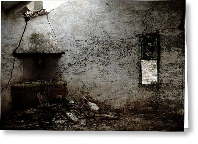 Abandoned Little House 3 Greeting Card by RicardMN Photography