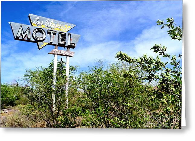 Greeting Card featuring the photograph Abandoned Los Alamos by Utopia Concepts