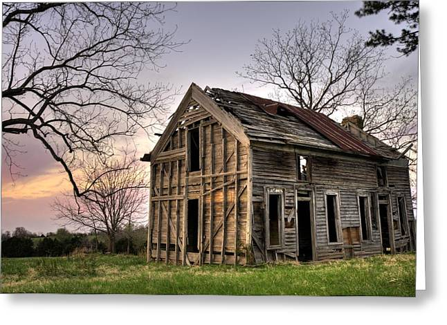 Abandoned Memories II Greeting Card by Gregory Ballos