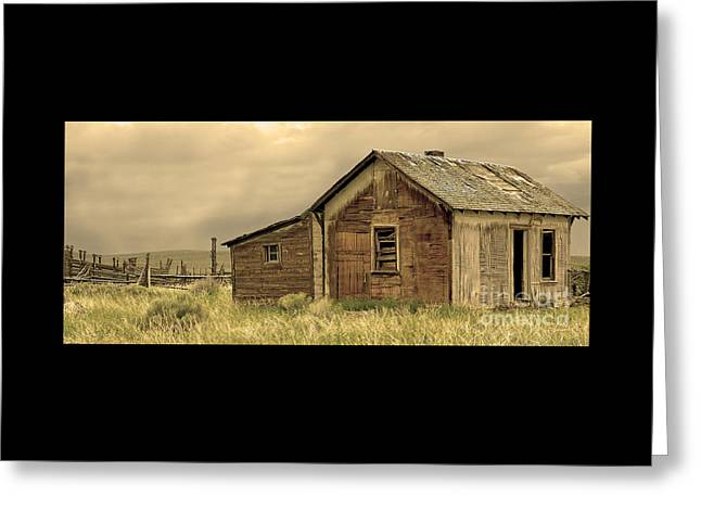 Greeting Card featuring the photograph Abandoned by Nick  Boren