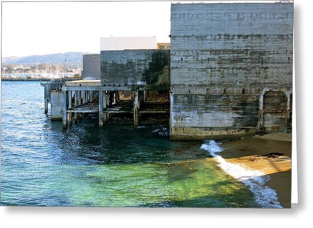 Greeting Card featuring the photograph Abandoned On Cannery Row by Paul Foutz