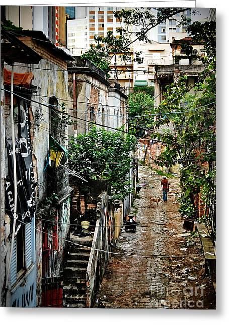 Abandoned Place In Sao Paulo Greeting Card