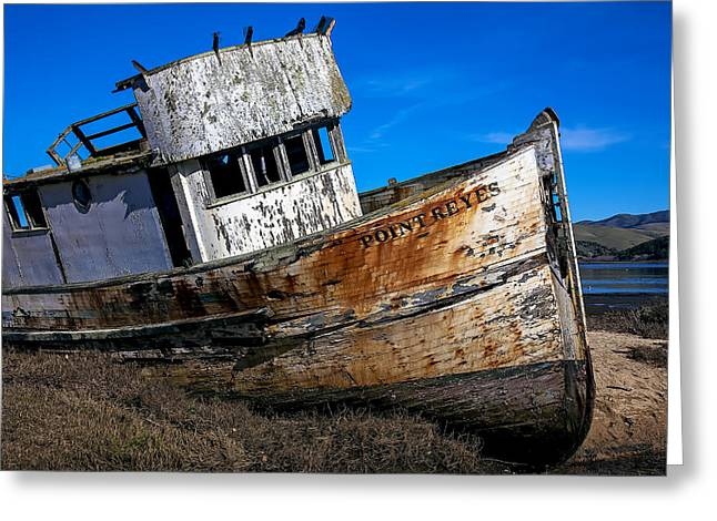 Abandoned Point Reyes Greeting Card by Garry Gay