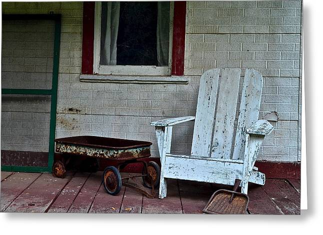 Abandoned Greeting Card by Frozen in Time Fine Art Photography