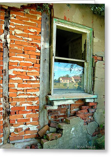 Abandoned Greeting Card by Ron Haist