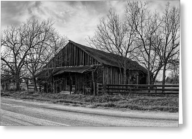 Abandoned Shack In Anmansville Texas Dubina Greeting Card