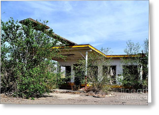 Greeting Card featuring the photograph Abandoned Store by Utopia Concepts