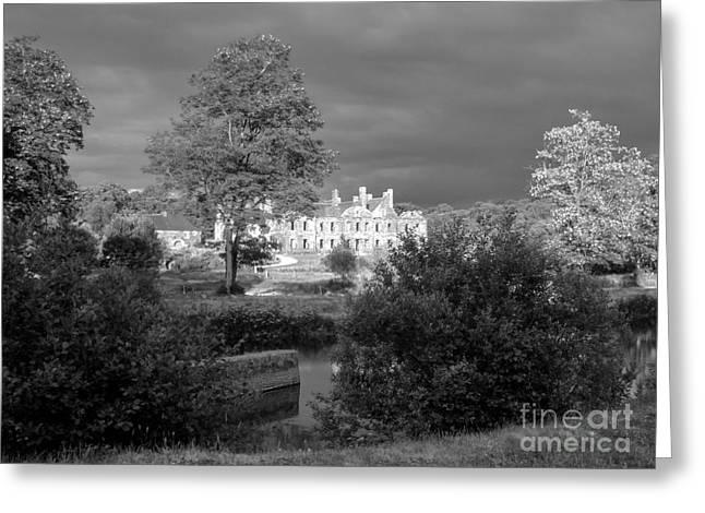 Abbaye De Bon Repos Greeting Card by Carol Weitz
