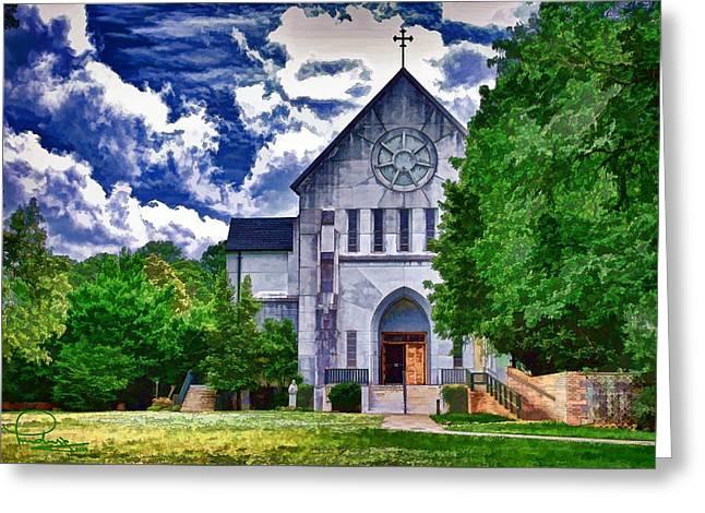 Abbey Church Greeting Card