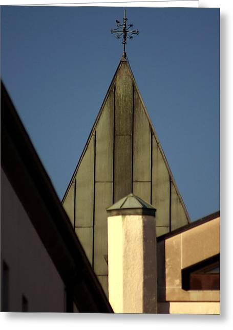 Abbey Of Gethsemani-steeple Greeting Card by Thia Stover