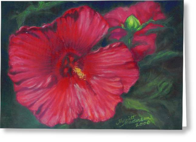 Abby Rose's Mallow Greeting Card by Harriett Masterson