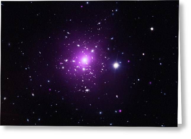Abell 383 Galaxy Cluster Greeting Card