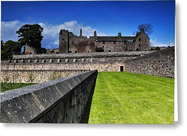 Aberdour Castle Greeting Card