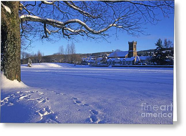 Aberlour Winter Greeting Card by Phil Banks