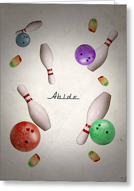 Abide Greeting Card by Filippo B