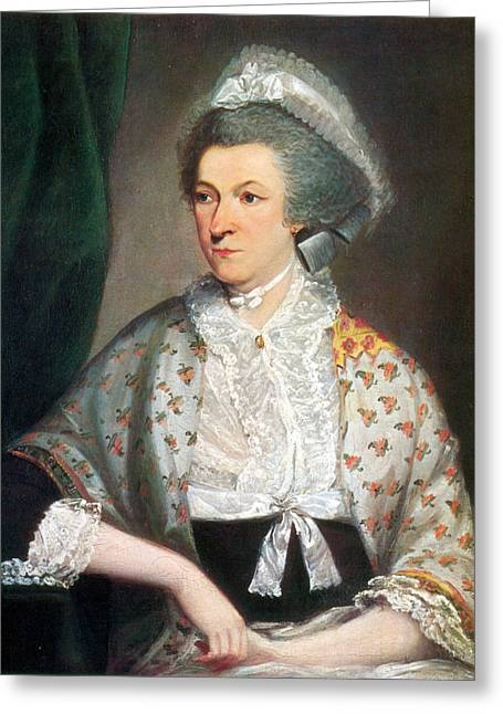 Abigail Adams, First Lady Greeting Card