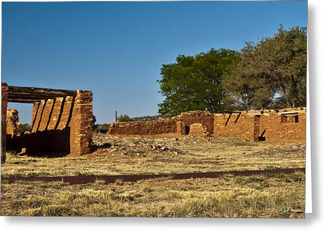 Abo Ruins 4 Greeting Card by Don Durante Jr