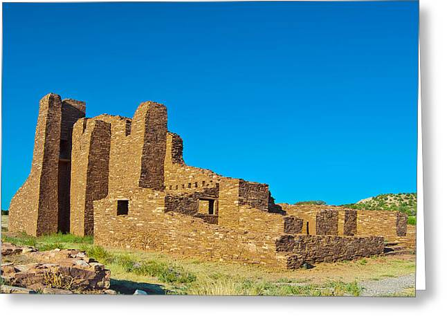 Abo Ruins 7 Greeting Card by Don Durante Jr