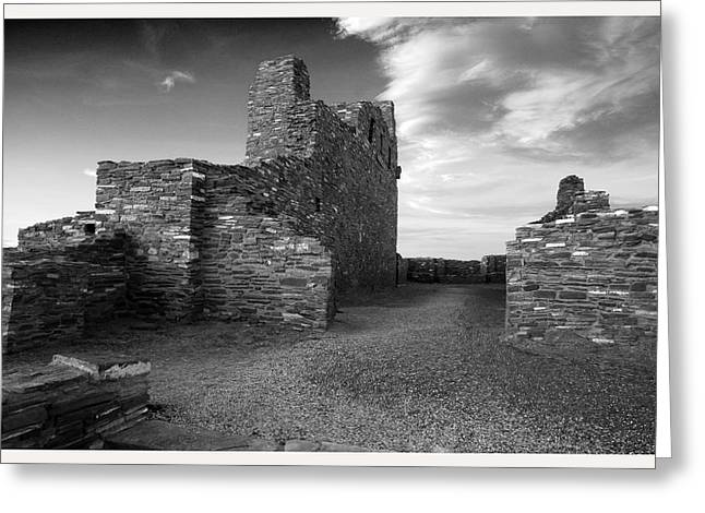 Abo Ruins New Mexico     Greeting Card by Mark Goebel