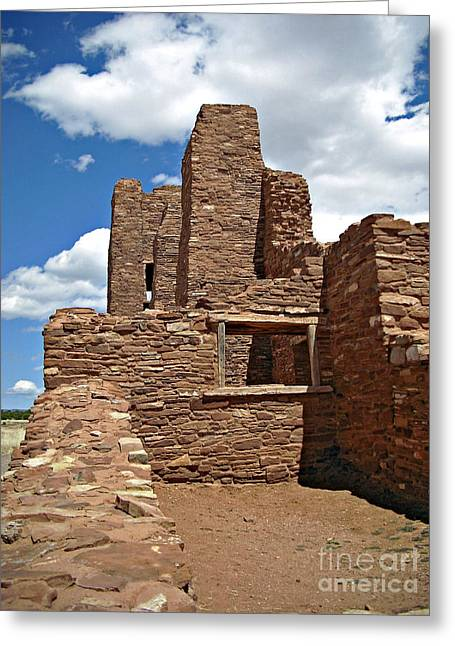 Abo Stone Tower Greeting Card
