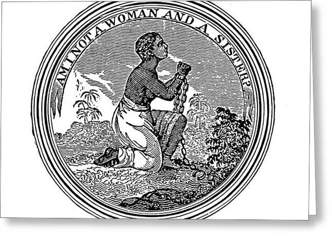 Abolition Emblem, 1837 Greeting Card by Granger