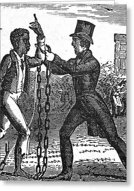 Abolitionist, C1840 Greeting Card