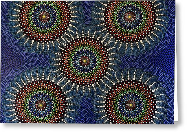 Aboriginal Inspirations 16 Greeting Card