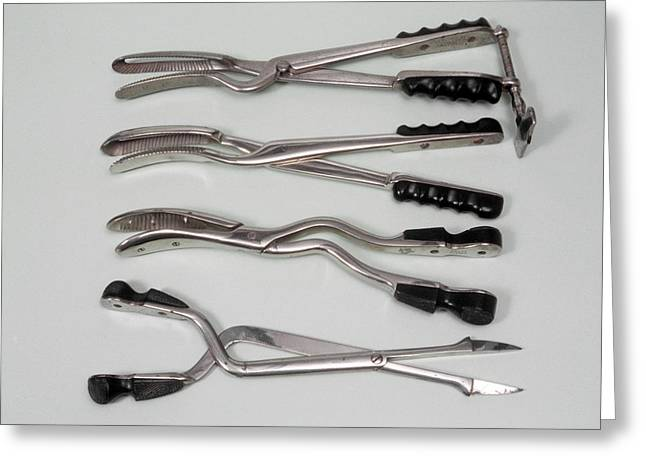 Abortion Instruments Greeting Card