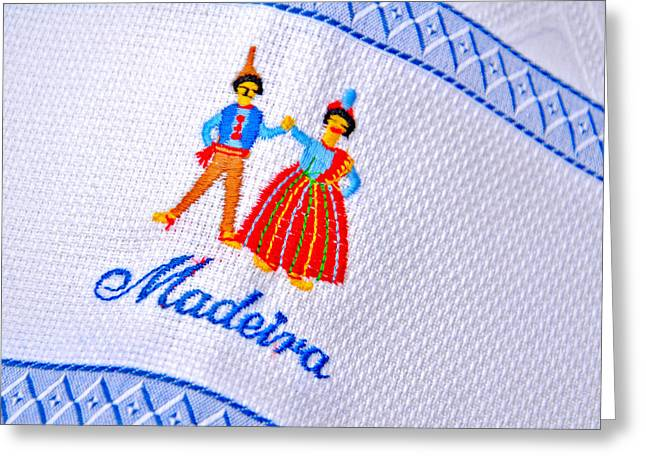 about LOVE. Madeira. Greeting Card by Andy Za