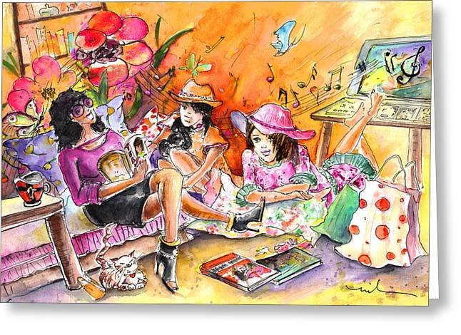 About Women And Girls 09 Greeting Card